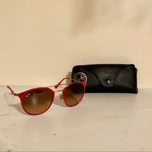 Unique Ray-Ban Aviator with Pink Trim
